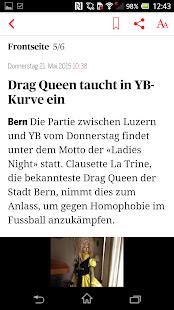 Berner Zeitung - screenshot thumbnail