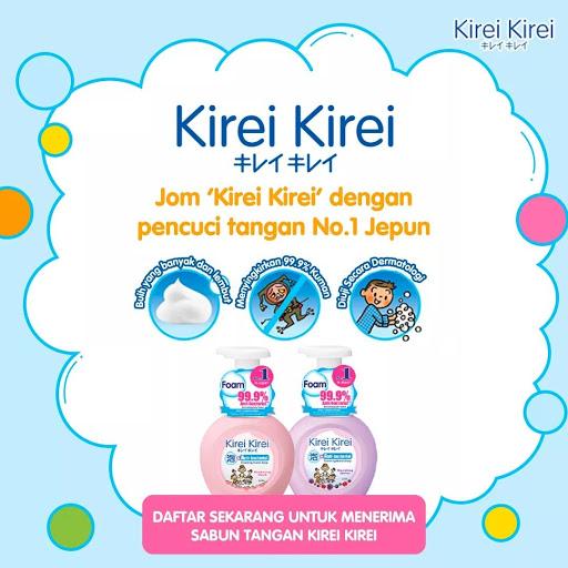 LION Kirei Kirei FREE Sample Giveaway 寄出免费试用品,寄到你家!