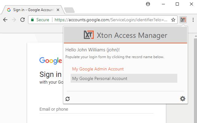 XTAM Browser Extension