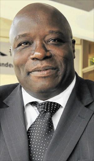 WORRIED:        Limpopo health MEC Norman Mabasa