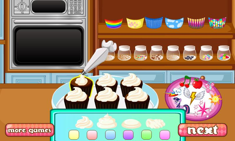 Cooking Special Cupcakes- screenshot