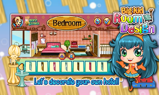 Girls Game House Decorating Screenshot Thumbnail