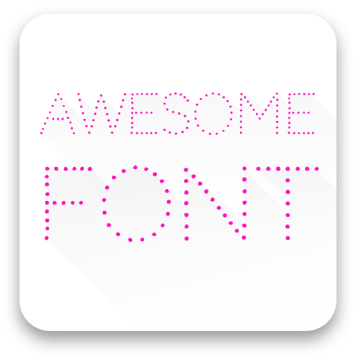 Free Cody Star Cool Font Icon