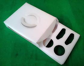 Photo: Caixa Diversificada Especial (26) - Aberta com o molde interno exposto. SPP-124