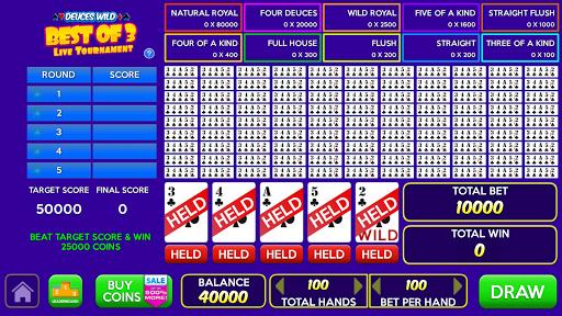 Multi Play Free Video Poker Games  screenshots 3