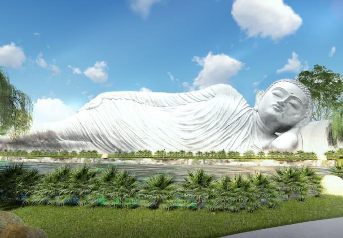 Lưu trữ tro cốt trong lòng Đức Phật tại công viên Vĩnh Hằng Long Thành