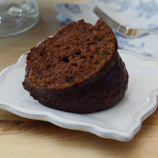 Black Russian Cake with Kahlua Glaze.