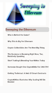 Ethereum the Sweeping - náhled