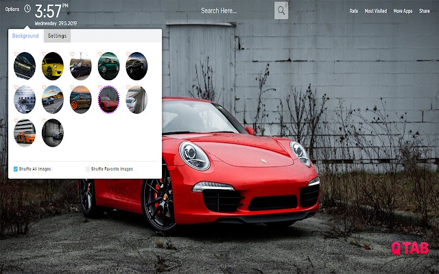 Porsche Wallpapers HD Theme