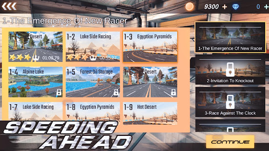 Speeding ahead: racing legend 1.5 APK + Modificación (Unlimited money) para Android