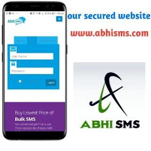 Abhi sms - náhled