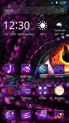 玩免費娛樂APP|下載恐龍CM Launcher桌面主題 app不用錢|硬是要APP