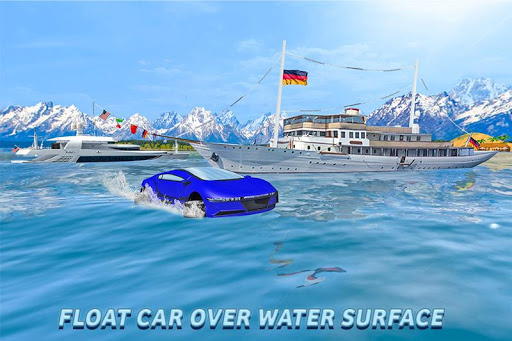 Water Surfer Floating Car 1.3 screenshots 3