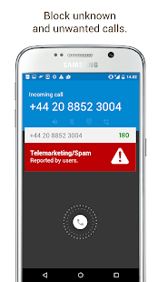 180 - Caller ID & Block- screenshot thumbnail