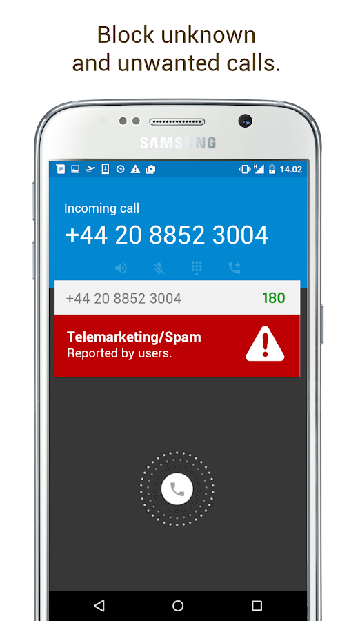 180 - Caller ID & Block- screenshot