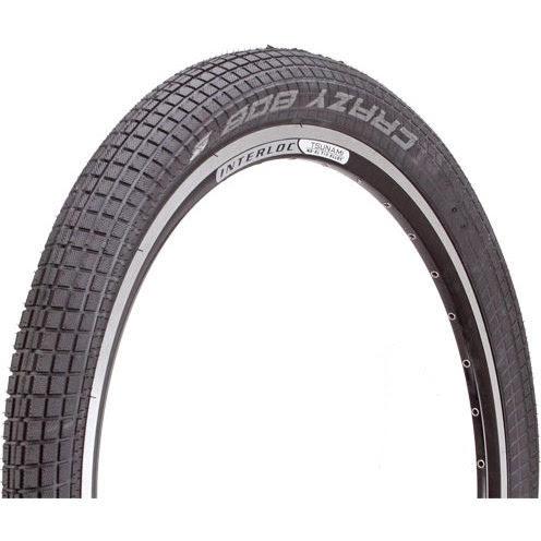 "Schwalbe Crazy Bob Urban Wire Bead Tire, 26 x 2.35"""