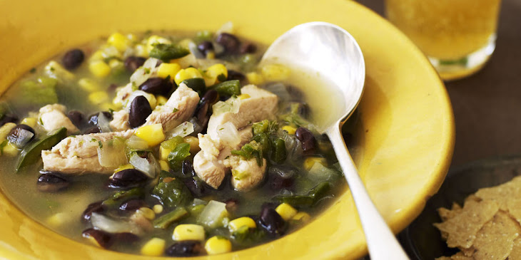 Black Bean Tortilla Soup Recipe | Yummly