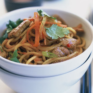 Thai-style Pork And Hokkien Noodle Stir-fry.