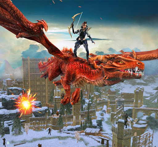 Flying Dragon Games: capturas de pantalla de City Action 3D 6