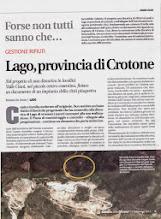 Photo: Corriere della Calabria 7.11.2013