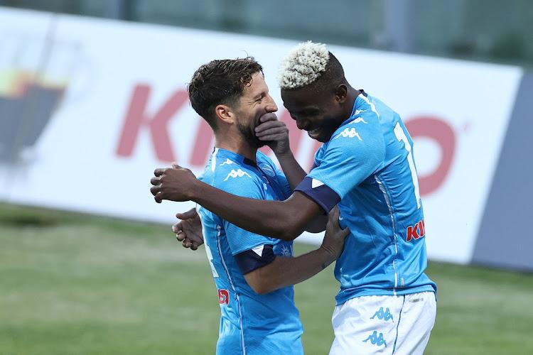 """Dries Mertens: """"La montée de Victor Osimhen nous a aidés"""""""