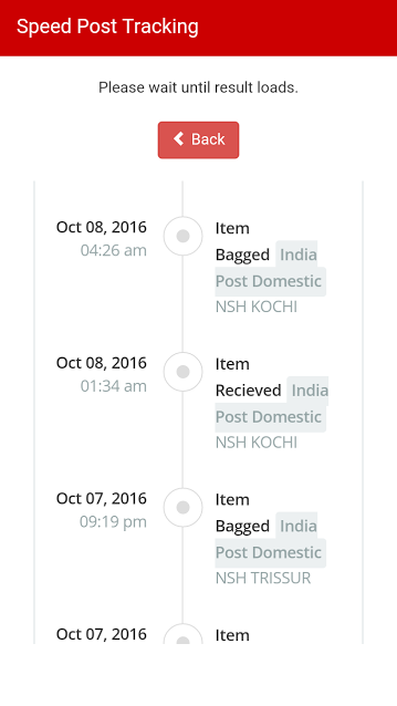 Courier Tracker India- screenshot