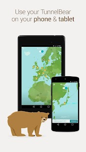 TunnelBear VPN  App Download For Android and iPhone 3