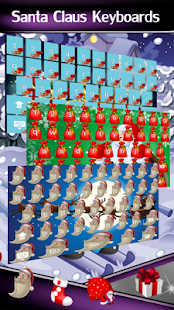 Santa Claus Keyboards - náhled