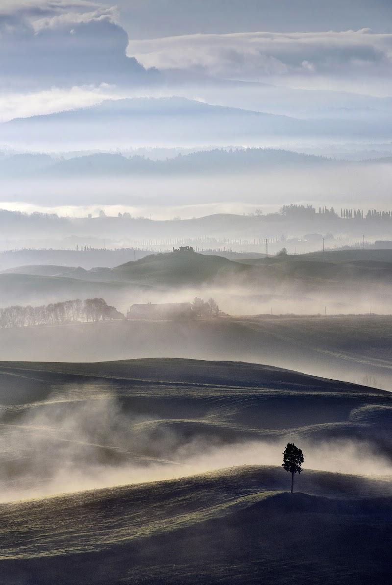 Nebbia nel Volterrano di Albertino