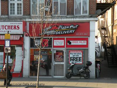 Pizza Hut Delivery On Greenford Road Pizza Takeaway In