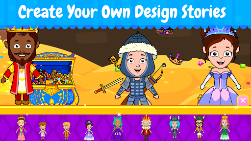Tizi Town: My Princess Dollhouse Home Design Games 1.1 screenshots 4