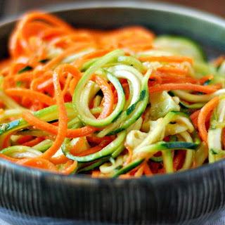 Carrot Noodles With Lime & Chili