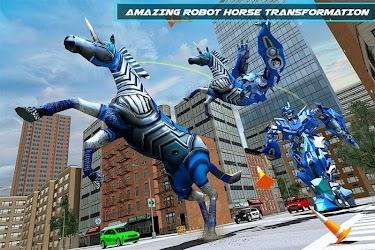 Download US Police Robot Horse Game - Transforming Robots