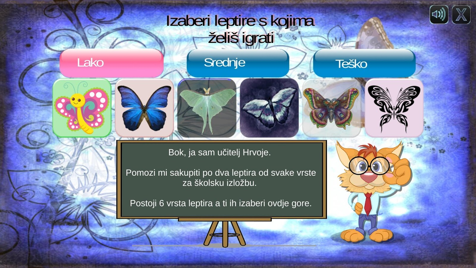 Memori Igra Leptiri- screenshot