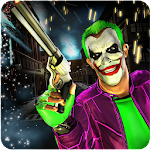 City Criminal Clown Robbery 3D Icon