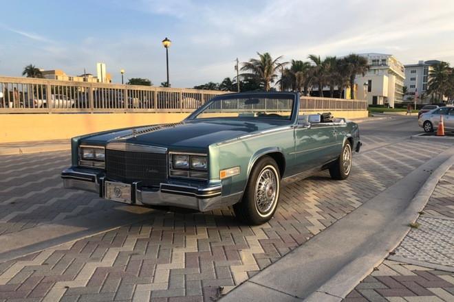 1985 Cadillac Eldorado convertible Hire FL