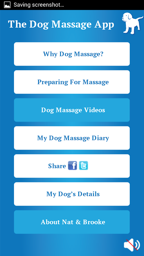 The Dog Massage App- screenshot