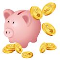 貯まる家計簿 icon