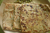 Sprouted Green Gram Paratha