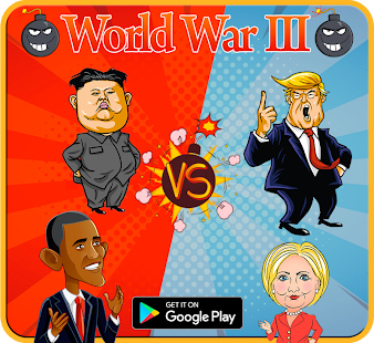 World War 3 - Trump Vs Kim - náhled
