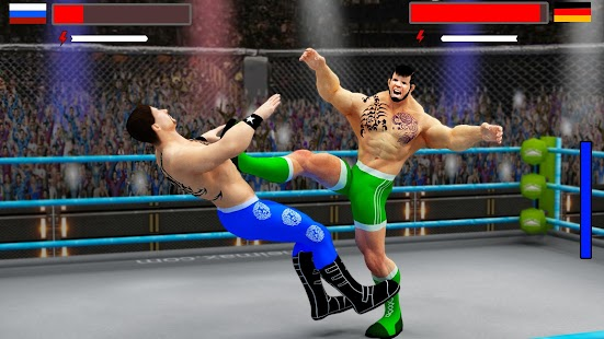 Stars Wrestling Revolution 2017: Real Punch Boxing- screenshot thumbnail