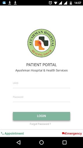 Ayushman Hospital Patient Portal 1.0.2 screenshots 1