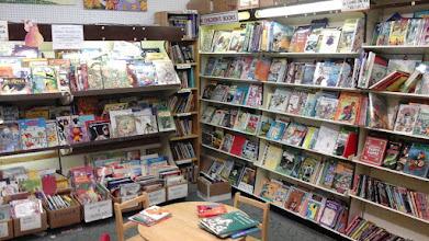Photo: used bookshop decatur