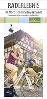 Titelbild des Radflyers zu Raderlebnissen im Nördlichen Schwarzwald