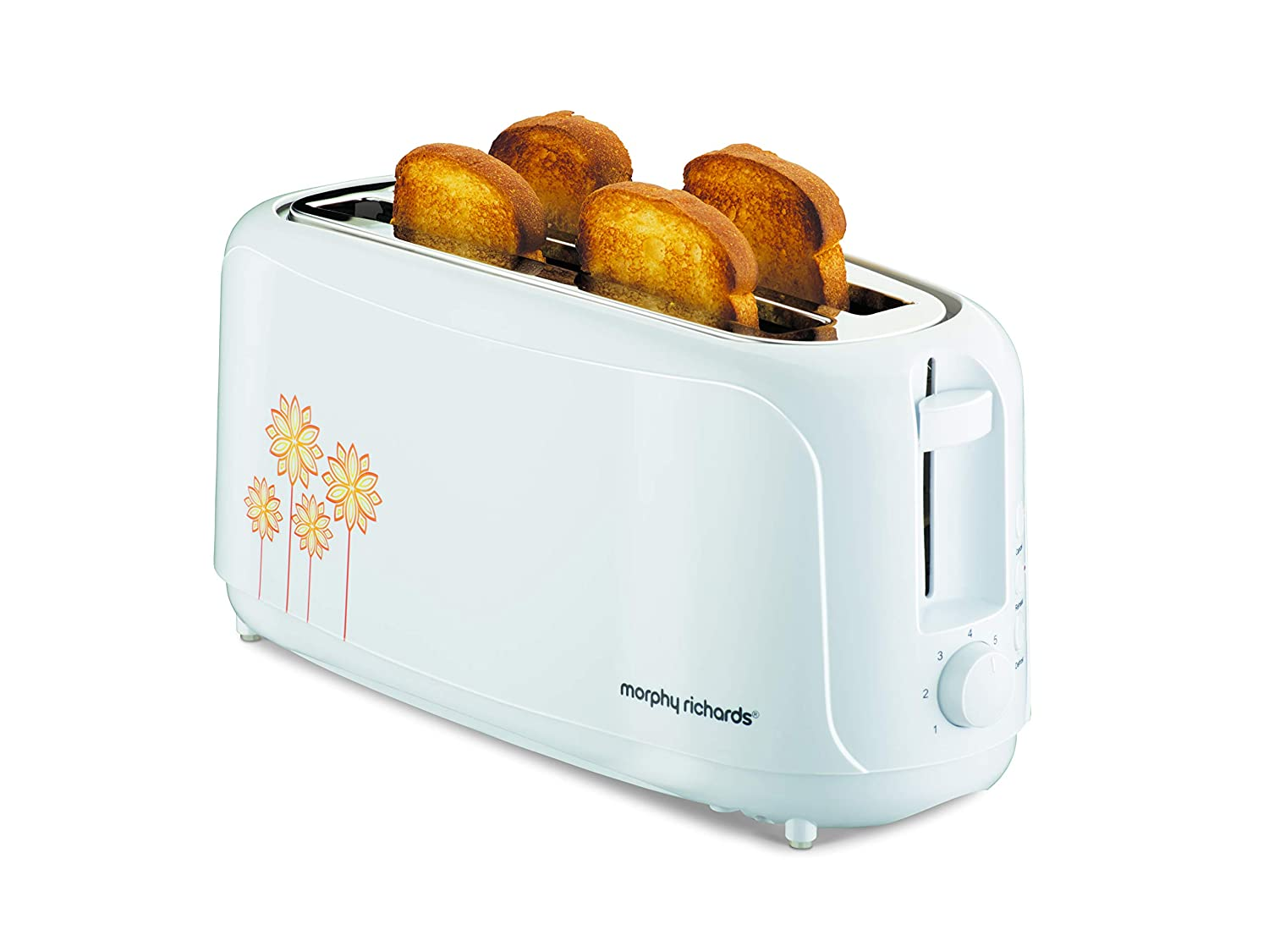 Morphy Richards Accents 4 Slot Toaster White (MRP Rs. 2660/-)