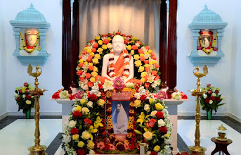 Photo: Sri Ramakrishna's shrine in the morning