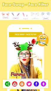 Face Swap Face Filter Sticker Selfie Filter - náhled