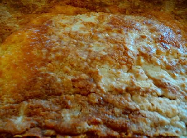 French Vanilla Pumpkin Spice Dump Cake