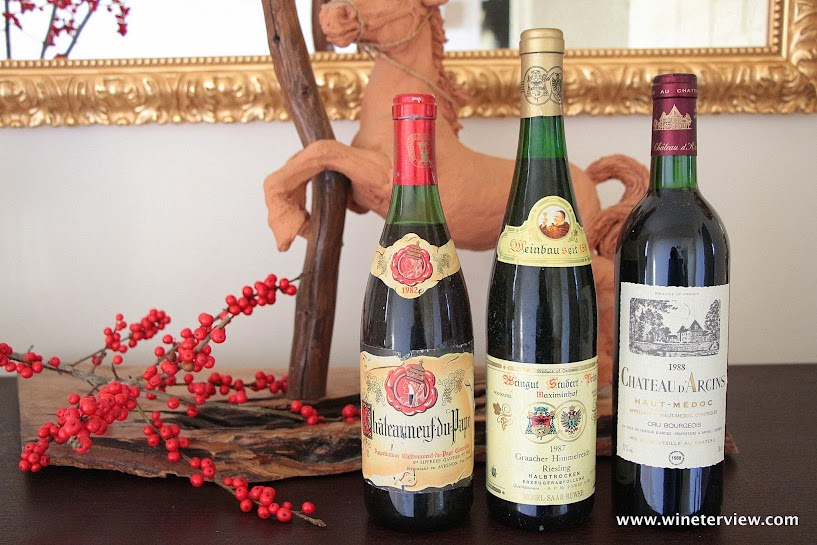 chateau d arc ins, naut medic,Châteauneuf-du-Pape, riesling, old wine, wine collection, private wine collection, collezione vini, wine collector, cantina in casa