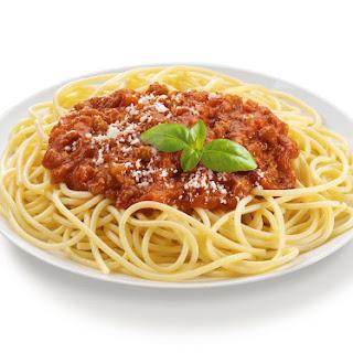 Spaghetti in the Microwave Recipe